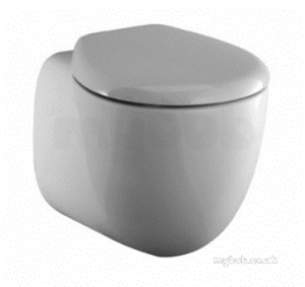 Ideal Standard Art and Design -  Ideal Standard Small Plus T6385 Soft Close Seat And Cover Wh