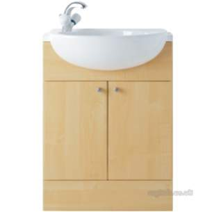 Ideal Standard Bathroom Furniture -  Ideal Standard Space E4660 1200mm Worktop Oak