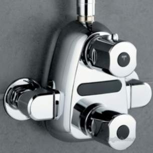 Ideal Standard Showers -  Ideal Standard Trevitherm A4004 Exp Shower Mixer Cp