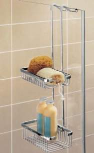 Impey Shower Accessories -  Impey Ig253-000 Hanging Double Basket