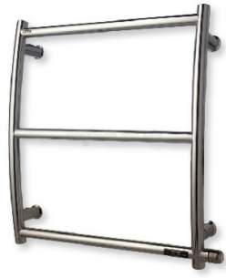 Myson Towel Warmers -  Myson Innoko Curved T/warmer Chrome Lh