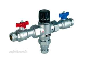 Intatec Commercial Products -  Intamix Pro 28mm Thermo Mixing Valve Cp