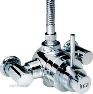 Intatec Commercial Products -  Minimalistic Exposed Shower Valve