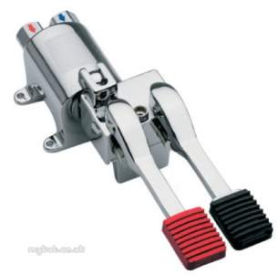 Intatec Commercial Products -  Intal Pedal Operated Flr Mount Mxng Valve