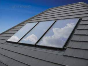 Dimplex Solar Heating Products -  Dimplex 6 M2 Roof Kit Integrated Tile