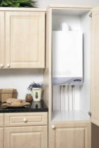 Ideal Domestic Gas Boilers -  Ideal Isar 30 He Condensing Boiler Ni