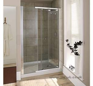Mira Flight Sfe Enclosures -  Mira Flight Sfe 1200mm Bifold Door Cl/sl 108047