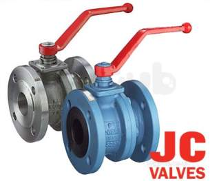 Jc Ball Valves -  Jc 516ait Cs Pn16 Full Bore L/op 150mm