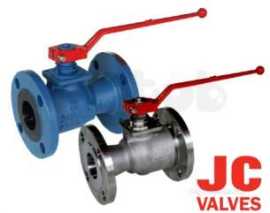 Jc Ball Valves -  Jc 715iit Ss 150 Rb Ball Valve L/op 50