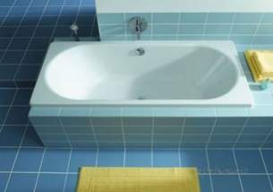 Kaldewei Steel Baths -  Classic Duo 103 Bath 160 X 70cm Nth As