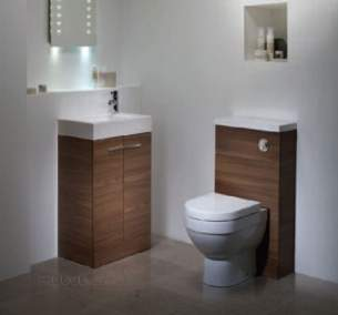 Roper Rhodes Furniture -  Kobe Floor Unit 450 Inc Basin Walnut