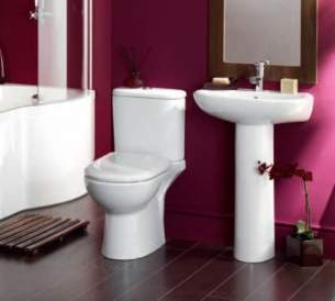 Eastbrook Sanitary Ware -  Eastbrook 27.0301 Kompact Wc Pan White