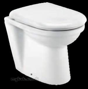 Eastbrook Sanitary Ware -  Eastbrook 27.0321 Kompact Btw Pan White