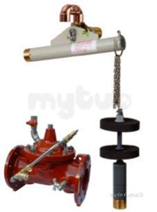 Aylesbury Float Valves -  Aylesbury Kp Float Valve With Upsv 80mm