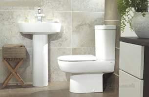 Lecico Sanitaryware -  Madison White Round Semi Basin 1th Wh