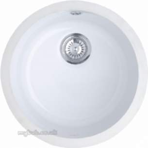 Astracast Sinks And Accessories -  Lincoln 40r1 Round Bowl Undermount Wh