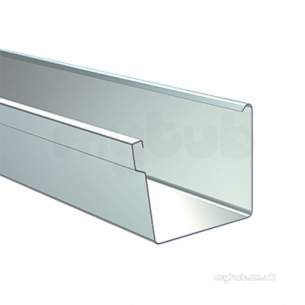 Lindab Rainwater -  Lindab Rectnglr Gutter X 3m 136mm Coated