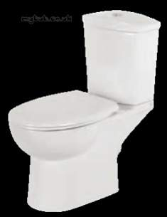Eastbrook Sanitary Ware -  Eastbrook 60.0002 Lisbon Wc Pan White