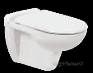 Eastbrook Sanitary Ware -  60.0004 Lisbon Wall Hung Wc Pan White