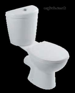 Eastbrook Sanitary Ware -  27.0011 Loire Close Coupled Wc Pan White