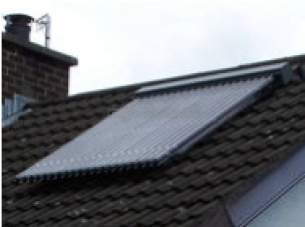 Baxi Potterton Solar Heating Systems -  Baxi Solarflo 30 Etc On Roof A Frame