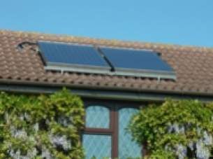 Baxi Solarflo Solar Heating Systems -  Baxi 2 Panel On Roof A Frame 5122263