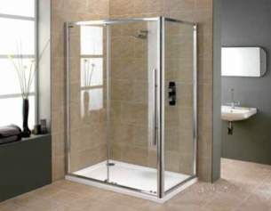 Showerlux Luxury Enclosures -  Linea Touch Twin Slider 1200 Niche