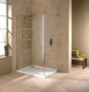 Showerlux Luxury Enclosures -  Urban Chic Wet Room Panel 800 Wall