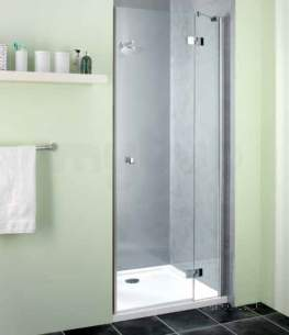 Showerlux Classic Enclosures -  Classic Hinged Door 500mm For Recess Lh