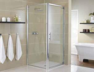 Showerlux Glide Enclosures -  Glide Twin Slider 1600mm Gs 2box