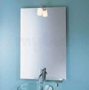 Showerlux Bath Panels -  Showerlux 500 X 900mm Gallery Mirror