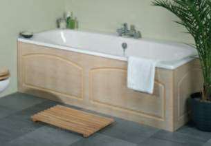 Tavistock Bath Panels -  Lynton O109 700mm End Panel Mahog