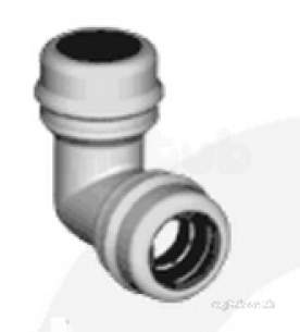 Marley Equator -  Marley Equator Elbow 90deg 28mm Eb9028