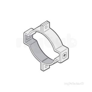 Marley Non Contract Rw Soil and Waste -  110mm Two Piece Pipe Bracket Jb42