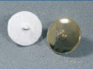Miscellaneous Cistern Accessories -  F0215cp Bath Overflow Stoppers Cp