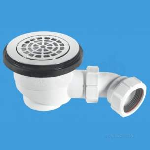 Mcalpine Waste traps overflow -  Mcalpine 90mm Seal Shower Trap St90cpb-p