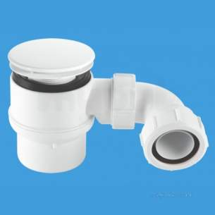 Mcalpine Waste traps overflow -  Shower Trap 11/2 Inch X50mm 85mm Wh Stw6m-95