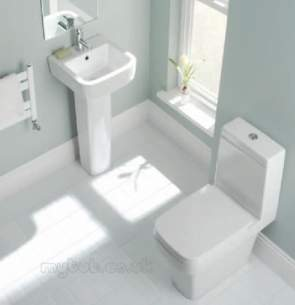 Eastbrook Sanitary Ware -  Eastbrook 56.0019 Minima Seat White