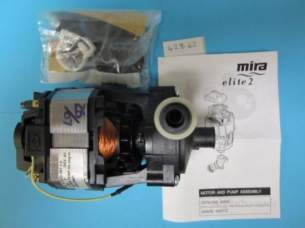 Mira Commercial and Domestic Spares -  Mira 428 62 Motor/pump Assembly 1.428.62.12