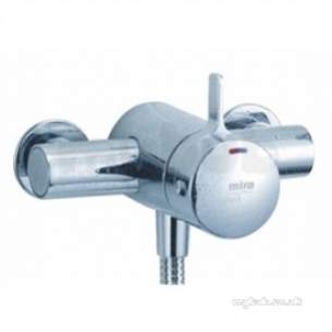 Mira Select Showers -  Mira Select 1592.001 Exposed Shower Chrome