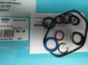 Mira Commercial and Domestic Spares -  Mira 451.76 Seal Pack B Mira Excel