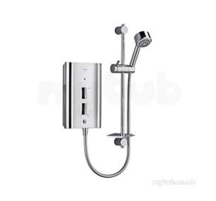 Mira Electric Showers -  Mira Escape 9.0kw Full Chrome 1.1563.730