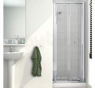 Mira Ace Shower Enclosures -  Mira Ace 1000mm Bifold Door Sl/cl