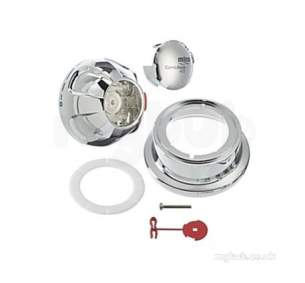 Mira Commercial and Domestic Spares -  Mira 617.23 Control Knob Assembly Chrome