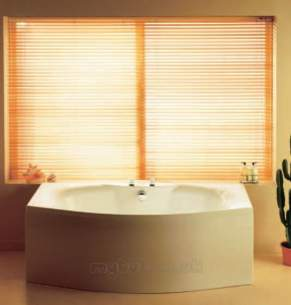 Eastbrook Baths -  23.5151 Mistral 1800x900 Carronite White