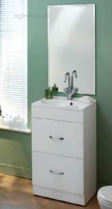 Eastbrook Sanitary Ware -  Eastbrook 61.0001 Monaco Basin White