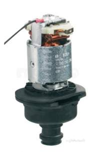 Aqualisa Showers -  Aqualisa 128501 Black Aquastream Power Shower Pump