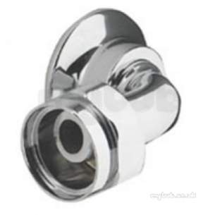 Aqualisa Showers -  Aqualisa 184301 Chrome 3/4 Bsp Elbow