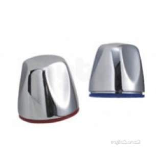 Aqualisa Showers -  Aqualisa 184501 Chrome Tap Knob Set Of 2
