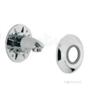 Aqualisa Showers -  Aqualisa 215016 Chrome Wall Outlet Assembly